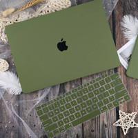macbook case casing sand GREEN ARMY air pro retina 11 12 13 15 inch