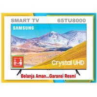 SAMSUNG CRYTAL UHD 4K SMART TV 65TU8000   UA65TU8000KXXD GARANSI RESMI
