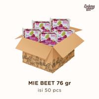 Mie Sayur Beet 76 gr Kartonan