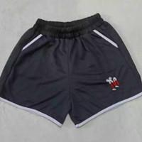 LAVIESTCO Mickey Edition Celana Pendek Hotpans Wanita Motif Mickey - Black, M