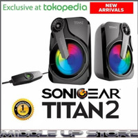 Speaker Sonicgear titan 2p sonic gear titan 2 p
