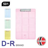 Papan Jalan / Clipboard Transparan D-R 501