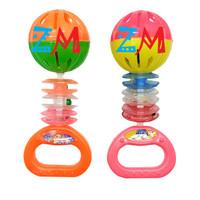 Mainan Bayi Krincingan KR06 Isi 2 Pcs - Edukasi Bell Music