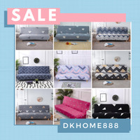 cover sofa bed /sarung sofa bed motif