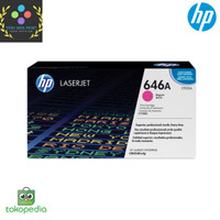 Toner HP LaserJet 646A Magenta CF033A Original - Merah
