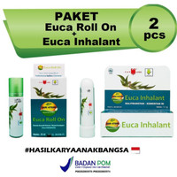 Paket Euca Roll On & Euca Inhalant