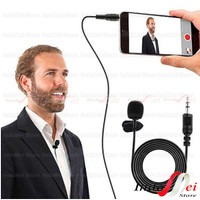 Clip on Mic Microphone 3.5 mm with clip for youtuber