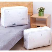 Tempat bed cover pakaian Dust cover 57X40X22CM Storage Bag Cloth Bag