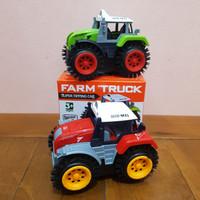 Mainan Mobil Farm Truck Bump N Go - Mainan Mobil Bump Go Truk