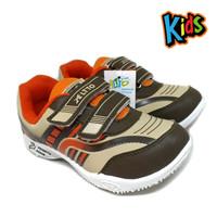 Sepatu Anak Laki Brown ALT - Sepatu Anak Sekolah