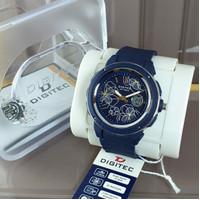 jam tangan wanita water resistant digitec 3092 original