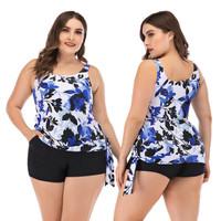 Baju Renang Import Wanita Tankini Shorts Celana Pendek Jumbo Big Senam