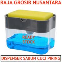 Dispenser Sabun CUCI PIRING busa pompa tempat sabun sponge cuci toilet