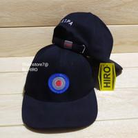 [COD]Topi Snapback Bordir vespa Original New Model/Topi Skymo - Hitam, All Size