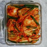 Kimchi Fresh Homemade 1 Kg - Tdk Bubble Wrap