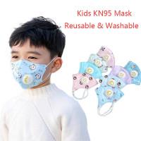 masker anak n95 5 lapisan - girl