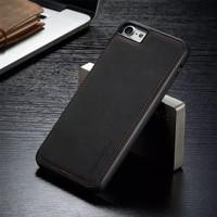 Caseme Original Leather Back Cover Case Iphone 8 Plus 8+