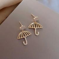 anting bentuk payung diamond umbrella earrings jan209