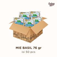 Mie Sayur Basil dan Garlic 76 gr Kartonan