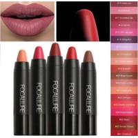 CUCIGUDANG Focallure Lipstick Matte Tahan Lama