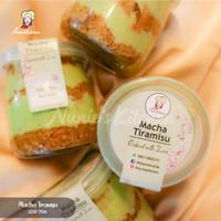 Matcha Tiramissu Cake Jar