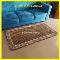 RUG SEAGRASS PERSEGI PANJANG / FLOORMAT / KARPER LANTAI ANYAMAN 80X150