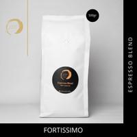 JSC Biji Kopi Fortissimo Espresso Blend 50/50 500gr - bubuk kasar