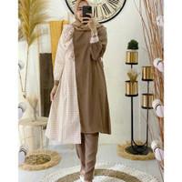 Nakuma set pakaian wanita fashion muslim