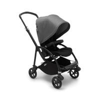 Bugaboo Bee 6 Complete Stroller Black - Grey melange