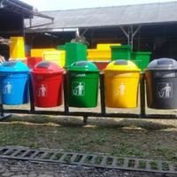 Tempat Sampah 50 Liter Pilah 5 Warna