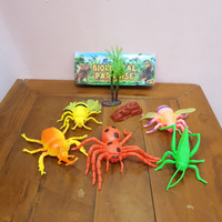 Mainan Miniatur Replika Hewan Serangga Insect