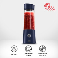 Welcook Premium Portable Blender Blue