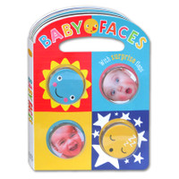 Baby Faces Board Book with surprise flaps