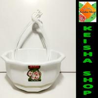 pot gantung gardinia No.5 untuk tanaman gantung merek lion star.