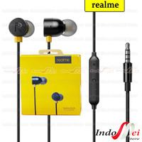 HEADSET EARPHONE HF MAGNET REALME BASS MA-10 REALME 5.REALME 3