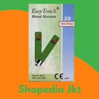 Strip Gula Darah Easy Touch / Strip Easy Touch Gula Darah isi 25