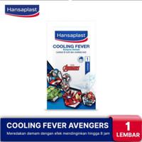 Hansaplast Cooling Fever Kompres Demam Avengers 1 Lembar