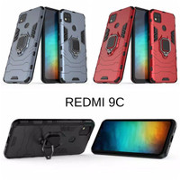Casing Soft Case Redmi 9C Hard Case Hybrid - Hitam