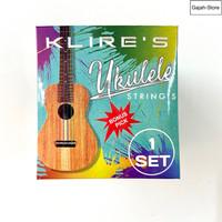 Senar ukulele KLIRE warna bonus pick