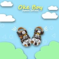 Sepatu Sandal Anak Laki Laki Oke Boy AF05