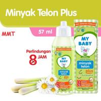 MY BABY minyak Telon 57ml,l 8jam anti nyamuk