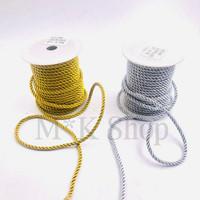 Tali Kur model Tambang Emas/Perak 5 mm