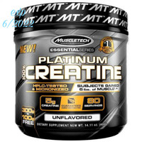 Platinum 100% Creatine, 400 Grams Unflavored Muscletech