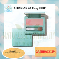 WARDAH EXCLUSIVE BLUSH ON 01 ROSY PINK 6,5 Gr/Normal