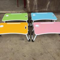 Meja Lipat / Meja Laptop Portable / Meja Belajar Anak