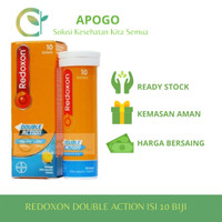 Redoxon Vitamin C + Zinc Rasa Jeruk 10 Tablet