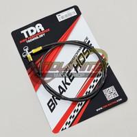 Selang Rem TDR Racing Black Carbon 120 cm Universal