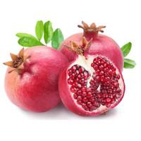Buah delima merah delima mesir dan india delima segar