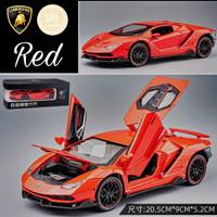DIECAST Miniatur MOBIL Lamborghini Skala 1:24 Metal Collection Premium