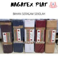 Kain Nagatex Plat Seragam L.150 cm [Baju Pramuka, Seragam sekolah]